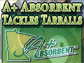 A Plus Absorbent Tackles Tarballs